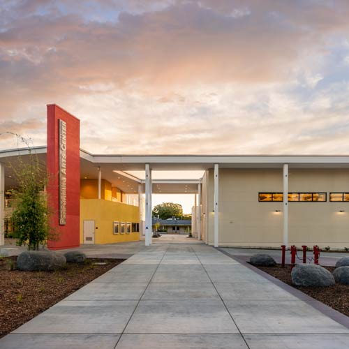 Spangenberg Theatre at Gunn High School