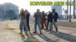 Bodyguard Menu v1.5 Mod for GTA 5 download