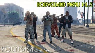 Bodyguard Menu v1.5 Mod for GTA 5 download