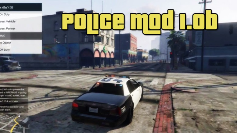 GTA 5 Police Mod 1.0b download