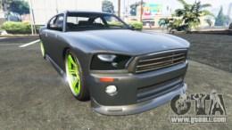 Bravado Buffalo Dodge Charger for GTA 5