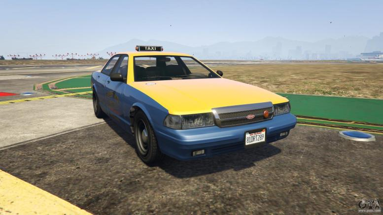 GTA 5 Vapid Taxi