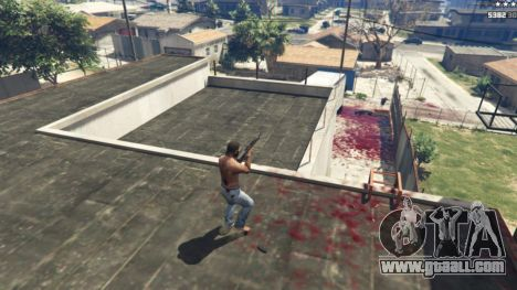 GTA 5 Extreme Blood 0.1 second screenshot