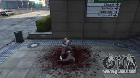 GTA 5 Extreme Blood 0.1 fifth screenshot