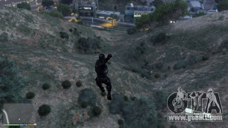 GTA 5 Crysis Script Mod fourth screenshot