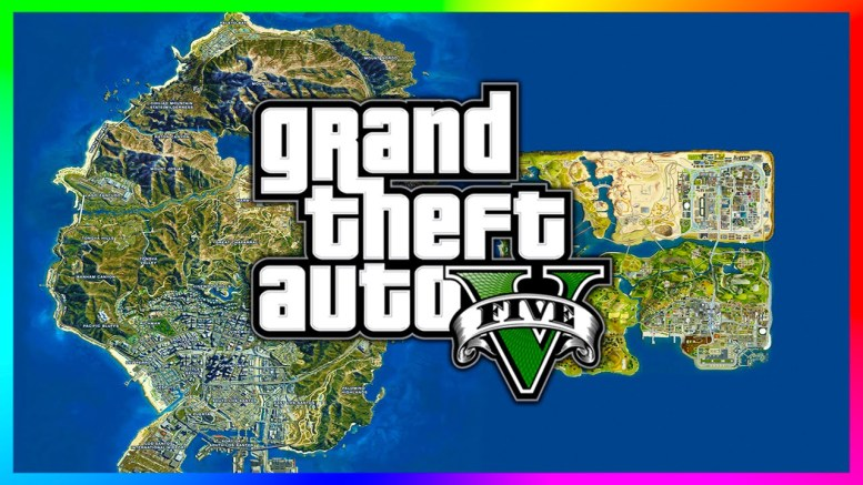 GTA 5 San Andreas Map download