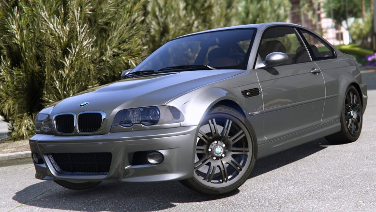 GTA 5 BMW M3 e46 2005 [Add-on Replace Tuning]