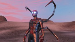 GTA 5 Iron Spider (Avengers Infinity War) [Emissive Add-On]