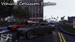 GTA 5 Vehicle Collision System + Vehicle Push