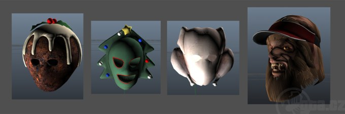 Gta 5 Online All Christmas Masks.Gta V Online Christmas Masks Halloweendays Org