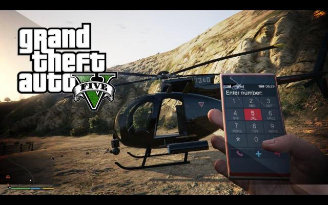 GTA 5 Cheats PC Helicopter