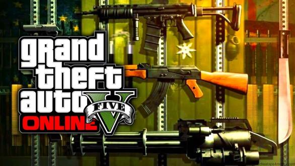 GTA 5 Gun Cheats PC