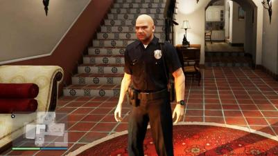GTA 5 Police Uniform Cheat PC