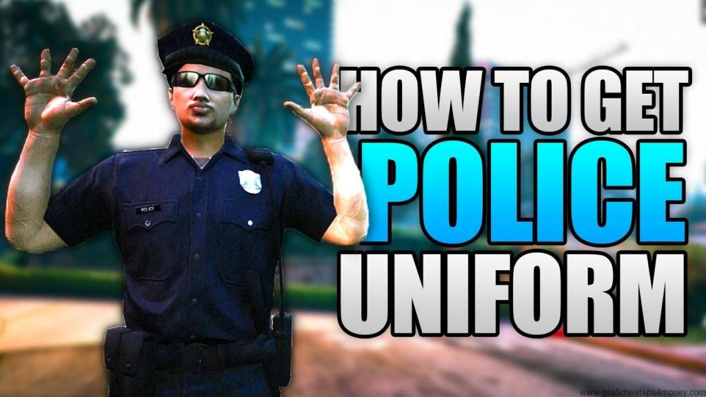 Use GTA 5 Police Uniform Cheat To Become A Police Officer