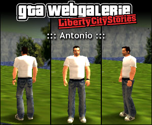 GTA LCS tenue : Antonio