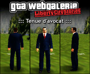 GTA LCS tenue : Avocat