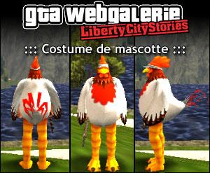 GTA LCS tenue : mascotte poulet