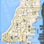 Carte des Pigeons et Sauts Unique d'Alderney - GTA IV