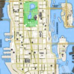 Carte vierge de GTA 4 - Liberty City - Algonquin