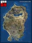 carte des paquets cachés (vue satellite)