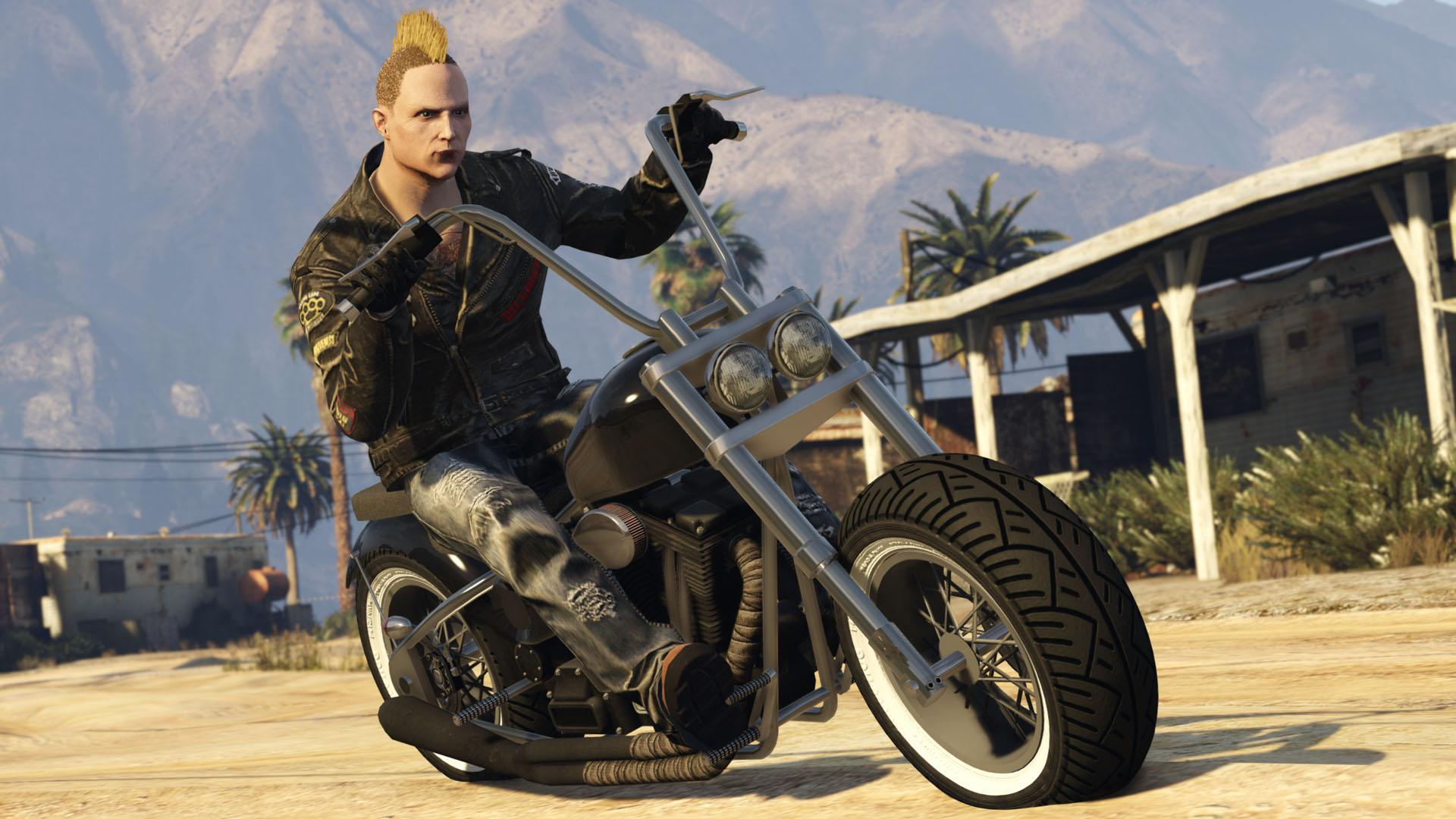 Zombie Chopper Gta V Amp Gta Online Vehicles Database Amp Statistics Grand Theft Auto V