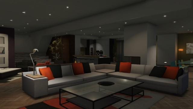 Gtaonline Apartment Highend 01 Hallway 02 Livingroom