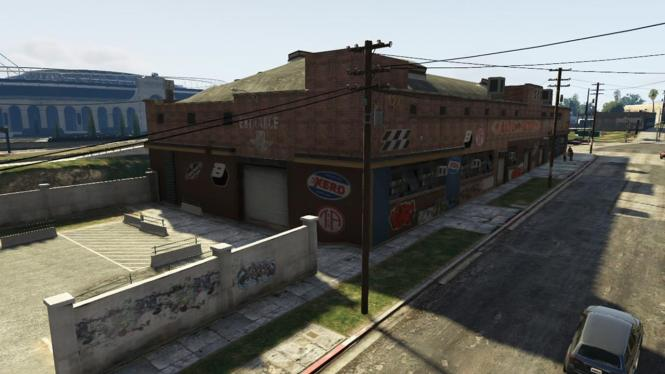 Grove Street Garage Gta V Story Mode