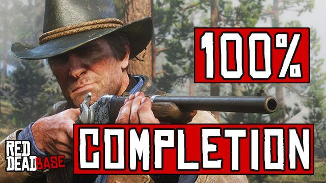 Red Dead Redemption 2: 100% Completion Guide & Checklist - Red ...