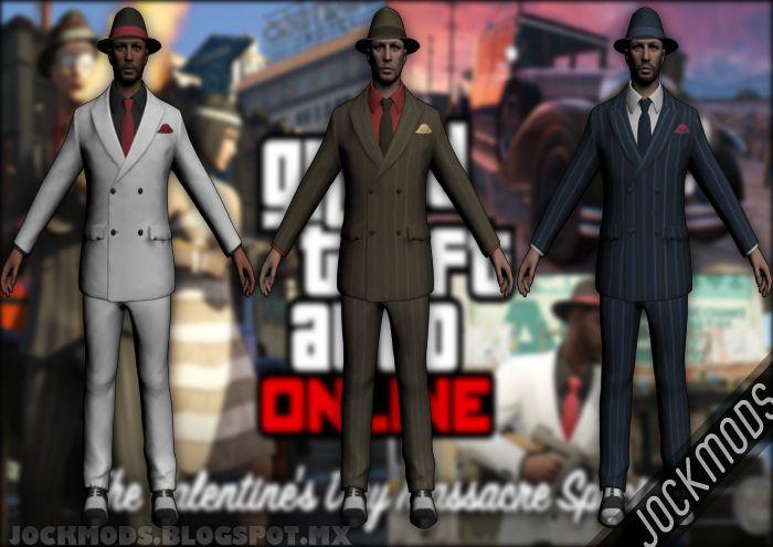 GTA San Andreas GTA V Online SkinPack Valentines Day