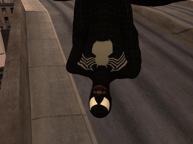 GTA San Andreas Spider Man 3 VENOM Skin Mod