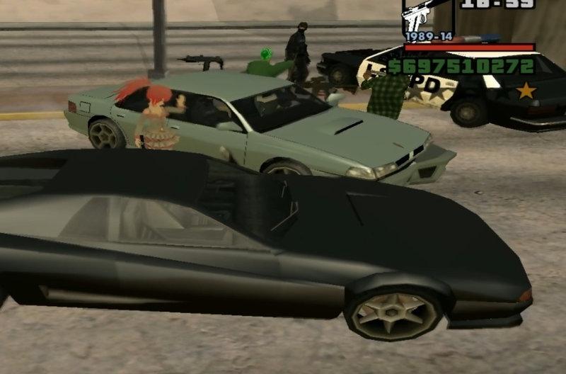 Police Samp Car Mod