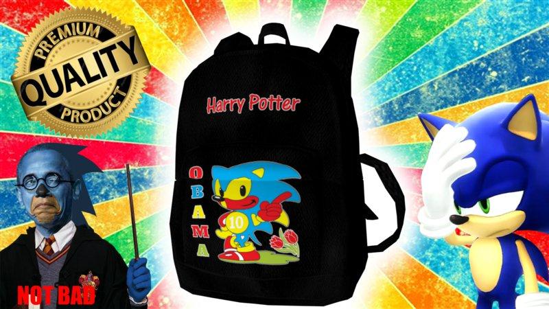 Gta San Andreas Harry Potter Obama Sonic 10 Backpack Mod
