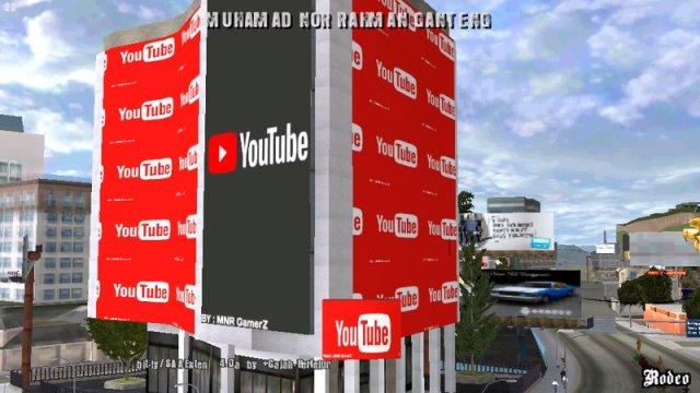 GTA San Andreas Kantor Youtube For Android Mod - GTAinside.com