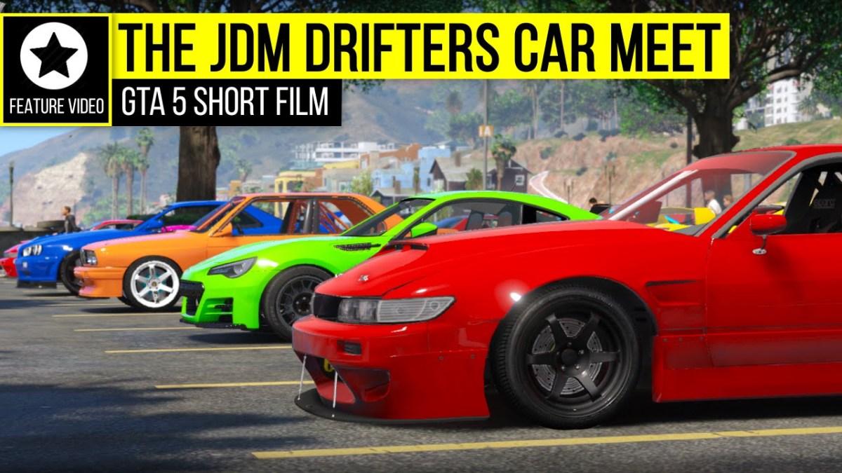 GTA 5 - The JDM Drifters Car Meet | GTA V PC Editor - GTA ...