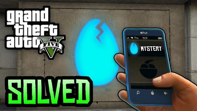 GTA 5 Easter Eggs - Mt Chiliad 'Cracked Egg' Solved! (Secret Mt Chiliad  Mural GTA 5 Mystery)