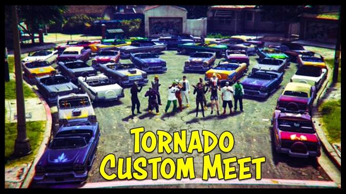 gta 5 online new tornado custom car show best looking cars gta junkies. Black Bedroom Furniture Sets. Home Design Ideas