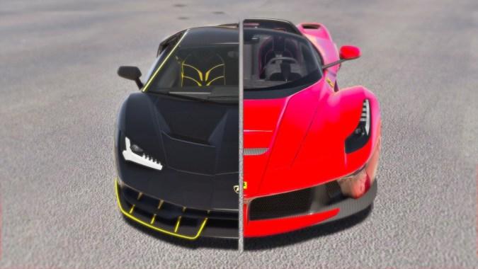 Lamborghini Centenario Vs Ferrari Laferrari Aperta Gta 5 Short
