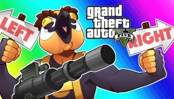 GTA5 Online Funny Moments – Unfair Windmill Dodgeball! – GTA