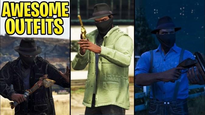 GTA Online FASHION FRIDAY (RDR2 Cowboy Outfits, Club VIP, Cyber-Hacker &  More)