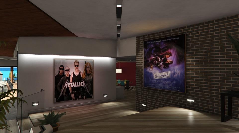 New Posters Franklins House Divers Pour GTA V Sur GTA