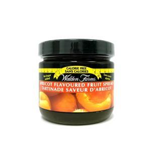 WaldenFarms Apricot Fruit Spread 340g. Gluten free, lactose free, sugar free, zero calories and zero carb, Kosher