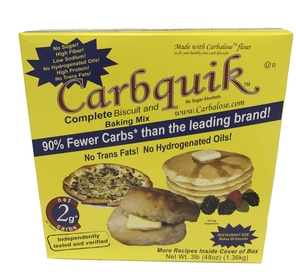 CarbQuik Complete Biscuit and Baking Mix Flour 3lb