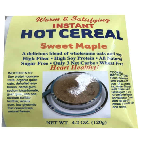 Dixie USA Carb Counters Low Carb Sweet Maple Instant Hot