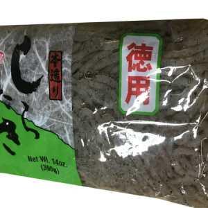 Shirataki Yam Noodle Black 396g. Low Calories & Carb, High Fiber, Low Sodium