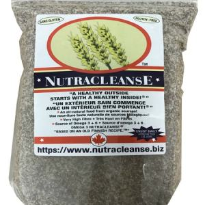 Nutracleanse is an all-natural product designed to address the serious problem of lack of fibre in the North American diet. Gluten Free, High Omega-3, High Fibre/Fiber, Lowers Cholesterol, Lowers Blood Pressure, Colon Cleansing, Weight Loss