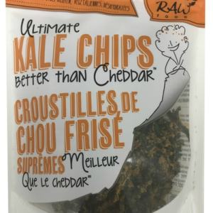 Solar Raw Food Ultimate Kale Chips Better Than Cheddar 100g. Organic, Raw, Gluten-Free, Vegan, Dehydrated
