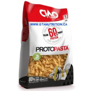Ciao Carb Pasta Fusilli 200g. Lower Carb, High Protein, High Fiber
