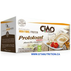 Ciao Carb ProtoToast Tomato 200g. Lower Carb, High Protein, High Fiber