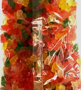 Sugar Free Assorted Fruit Gummi Bears 5lb Bag. Gluten Free