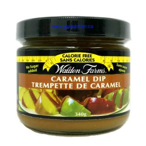 Walden Farms Caramel Dip 340g. Gluten free, lactose free, sugar free, zero calories and zero carb, Kosher